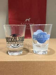 Universal Studios Singapore shotglass