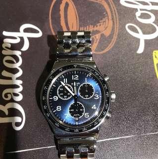 Swatch 三眼計時手錶