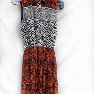 Shoulderless Long Dress
