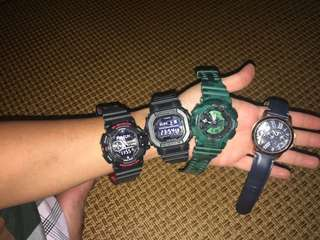 Gshock and Fossil