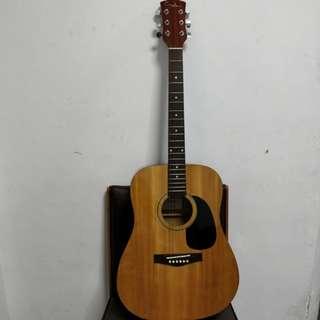 Reduced! Custom acoustic guitar