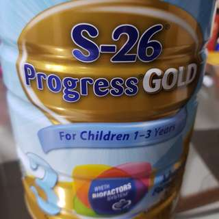 Wyeth S-26 Progress Gold Stage 3 for 1-3 Years