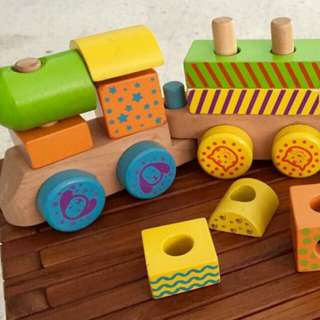Wooden Toy Train