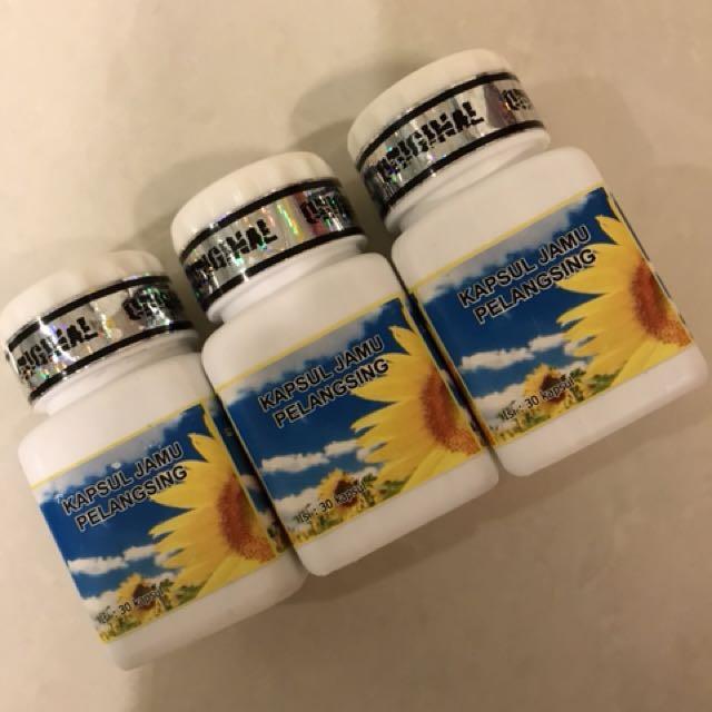 3 Botol Kapsul Jamu Pelangsing KJP Original Slimming Diet, Health & Beauty, Skin, Bath, & Body on Carousell