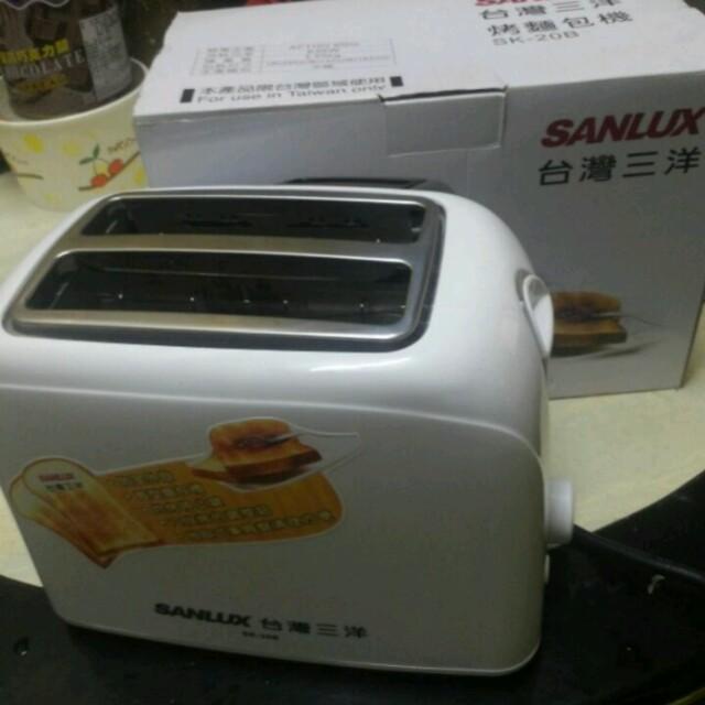 (二手)台灣三洋烤麵包機