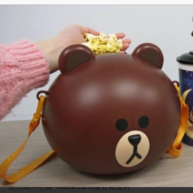 全新熊大造型爆米花桶