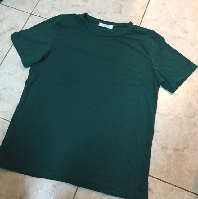 ✨亮墨綠✨素色針織上衣