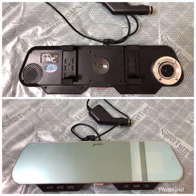 二合一雙用-後照鏡式行車記錄器
