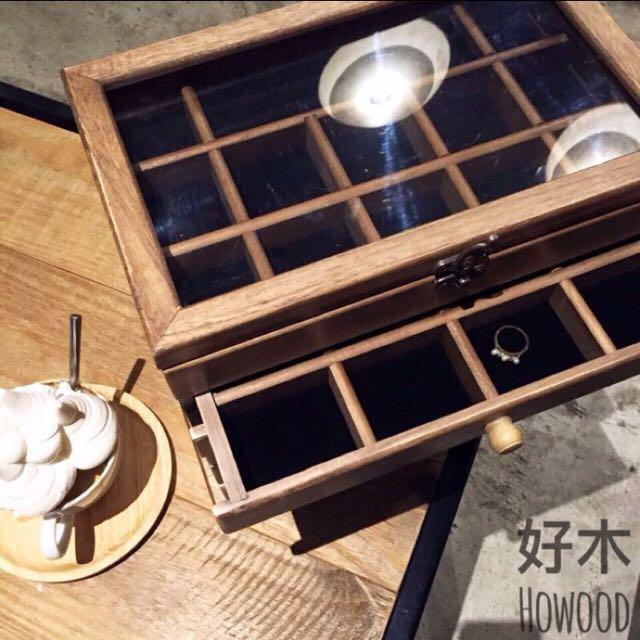 復古 飾品盒 手飾盒 錶盒