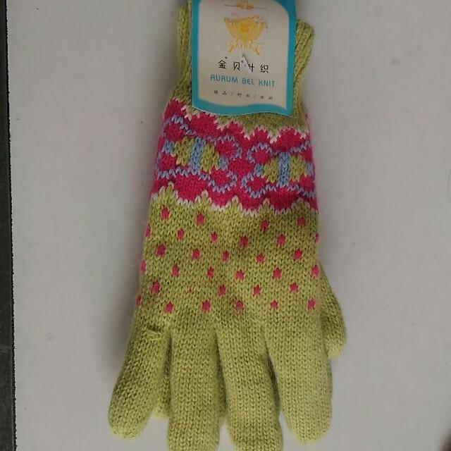 🎈全新 冬天針織手套 保暖 冬季 寒流 女