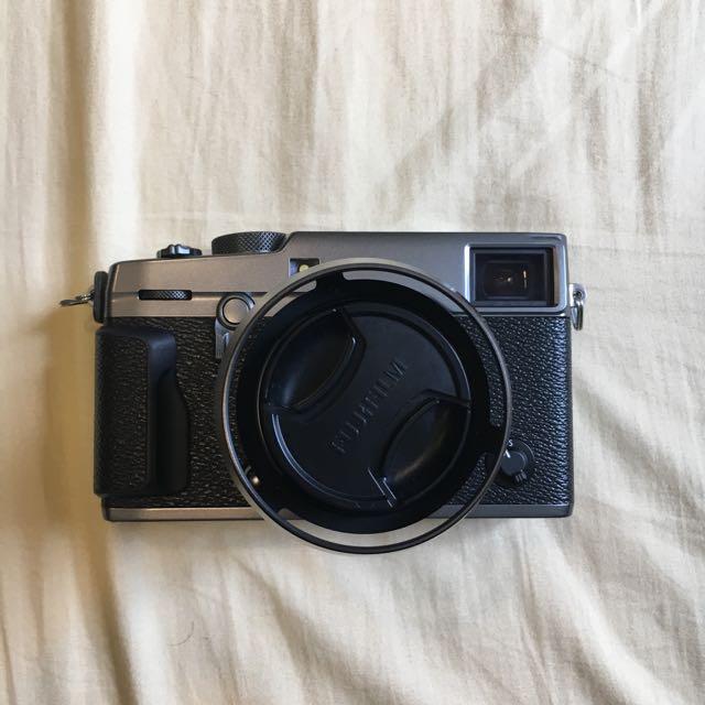 富士 Fujifilm Xpro2 + Xf23 F2 (限量 碳晶灰)