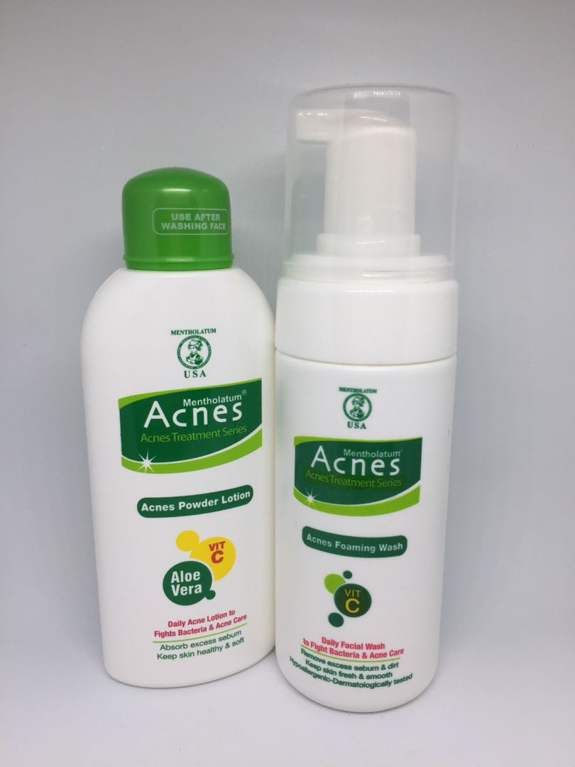 Acnes Foaming Wash & Powder Lotion