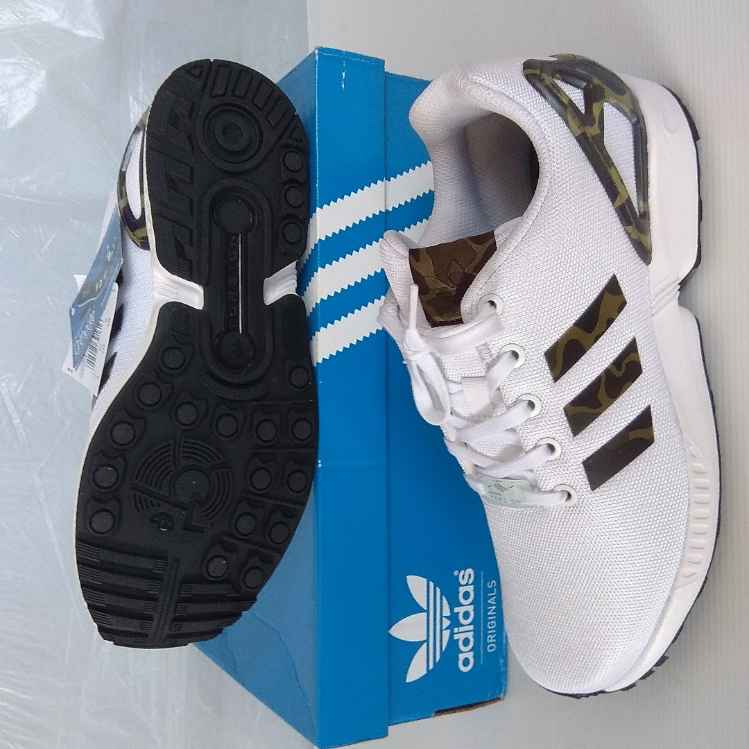 5203ff3a Adidas Camo Shoes, Brand New in Box and Label Attached, Adidas ZX ...