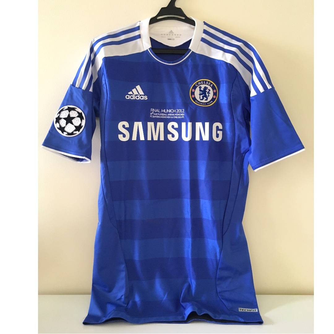 Adidas Chelsea Champions League 2012 Munich Shirt (repriced)