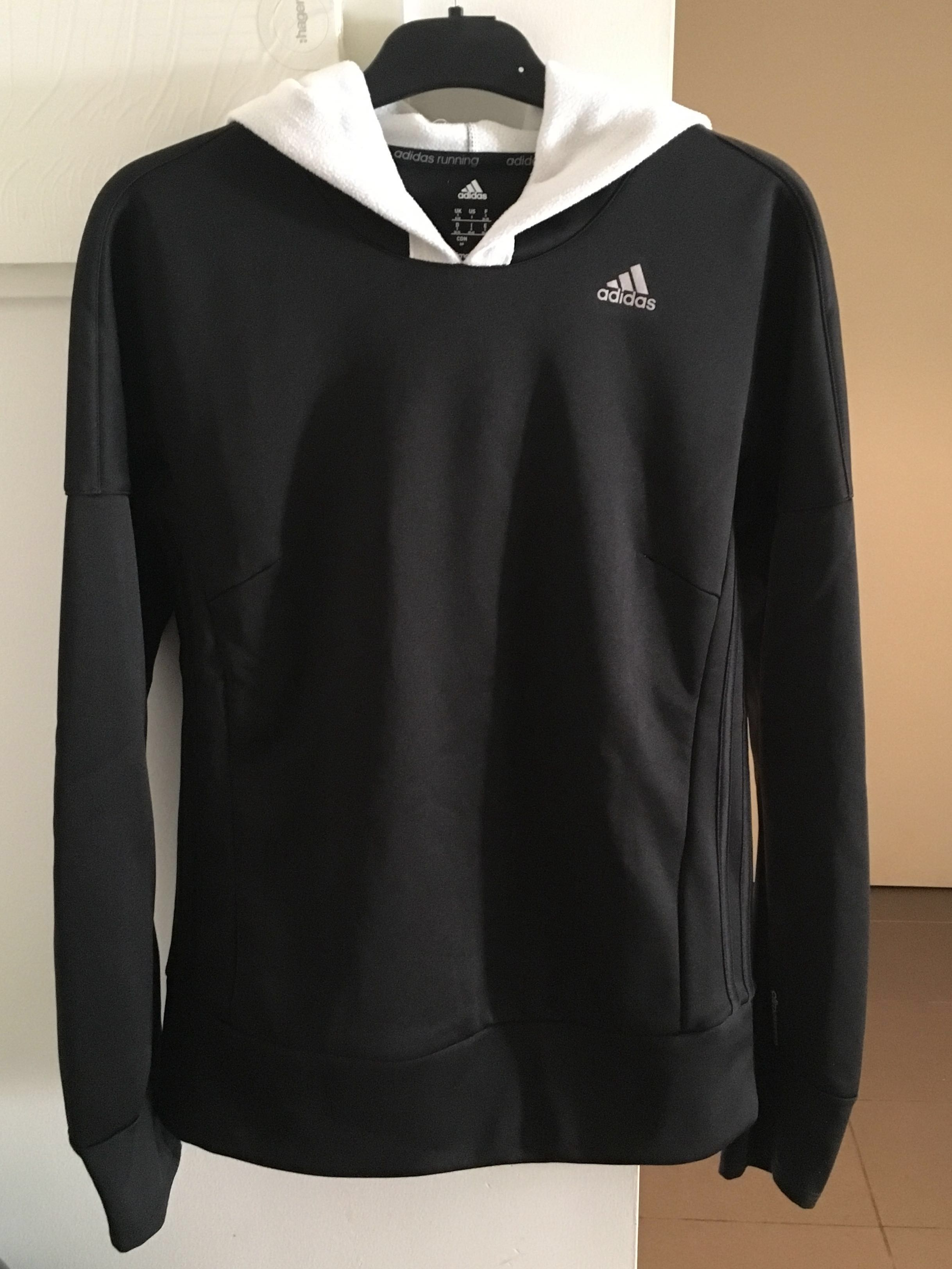 Adidas Running Climawarm Hoodie Black (S)