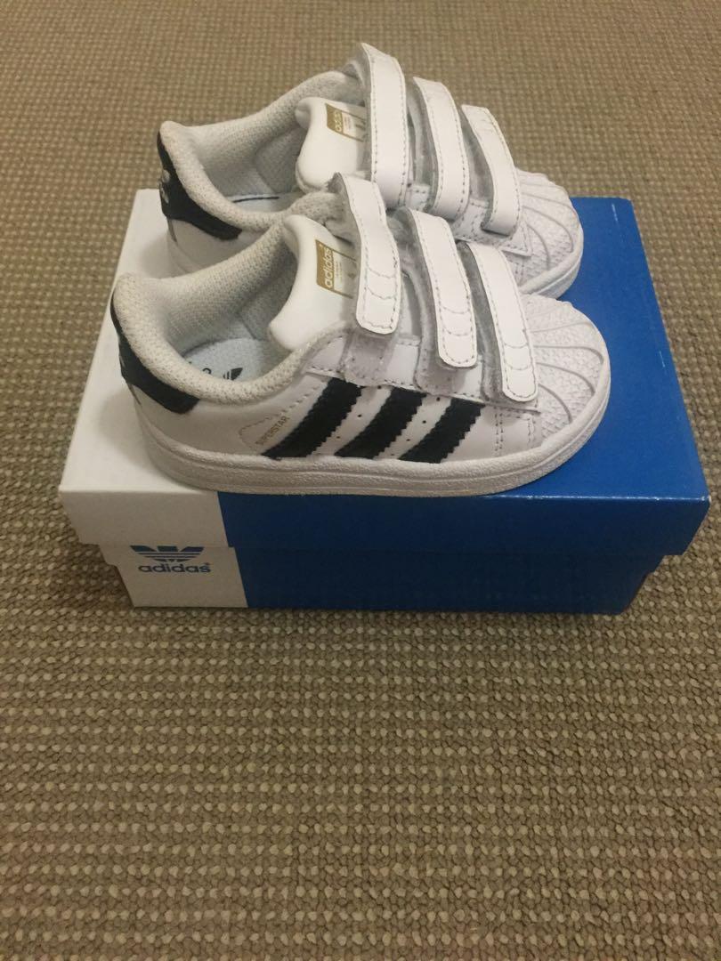Adidas Superstar Toddler Shoes size US 5K
