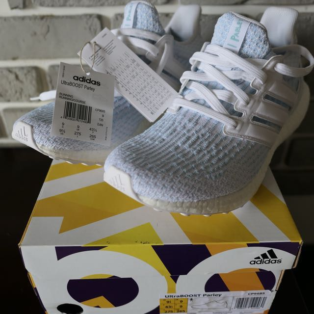 d72ea48e7 Adidas Ultraboost Parley Running White   Running White   Icey Blue ...