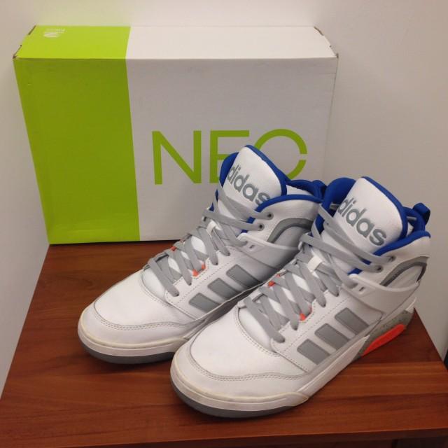 adidasxNEO聯名高筒鞋
