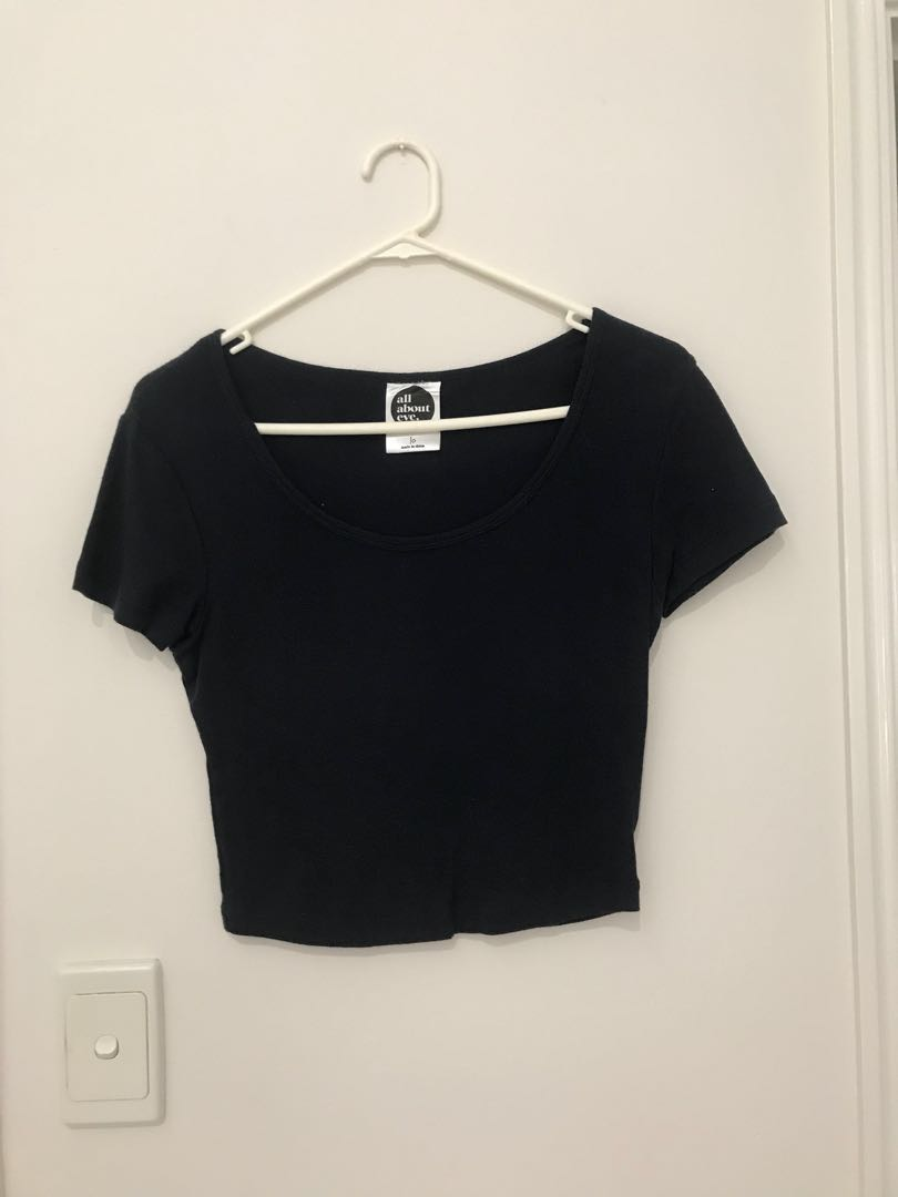 All About Eve cropped tee