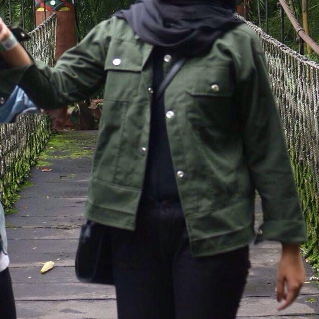 army cotton jacket
