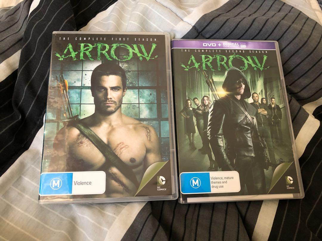 Arrow season 1&2