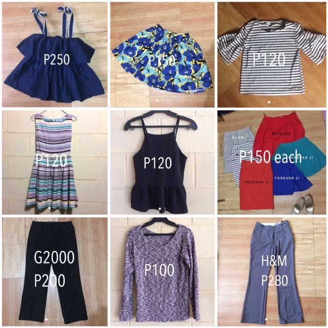 Assorted Preloved Clothes
