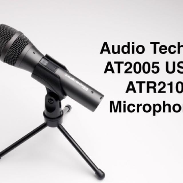 Audio-Technica 鐵三角 AT2005 動圈式 麥克風