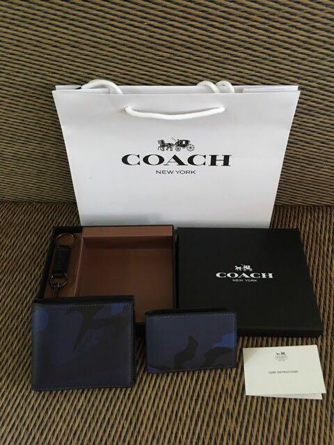 Authentic Coach Men Wallet