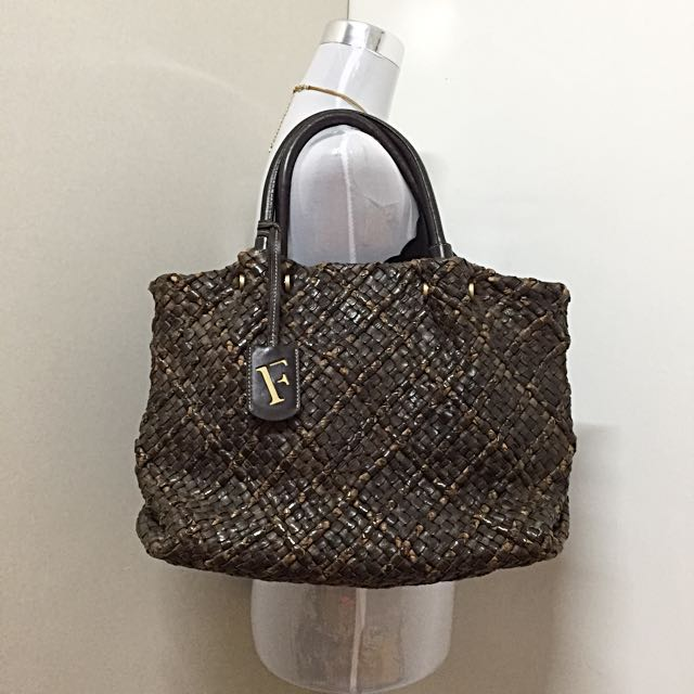 Authentic Furla Brown Nerin Bag