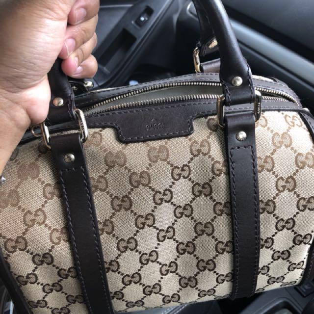 Authentic Gucci satchel