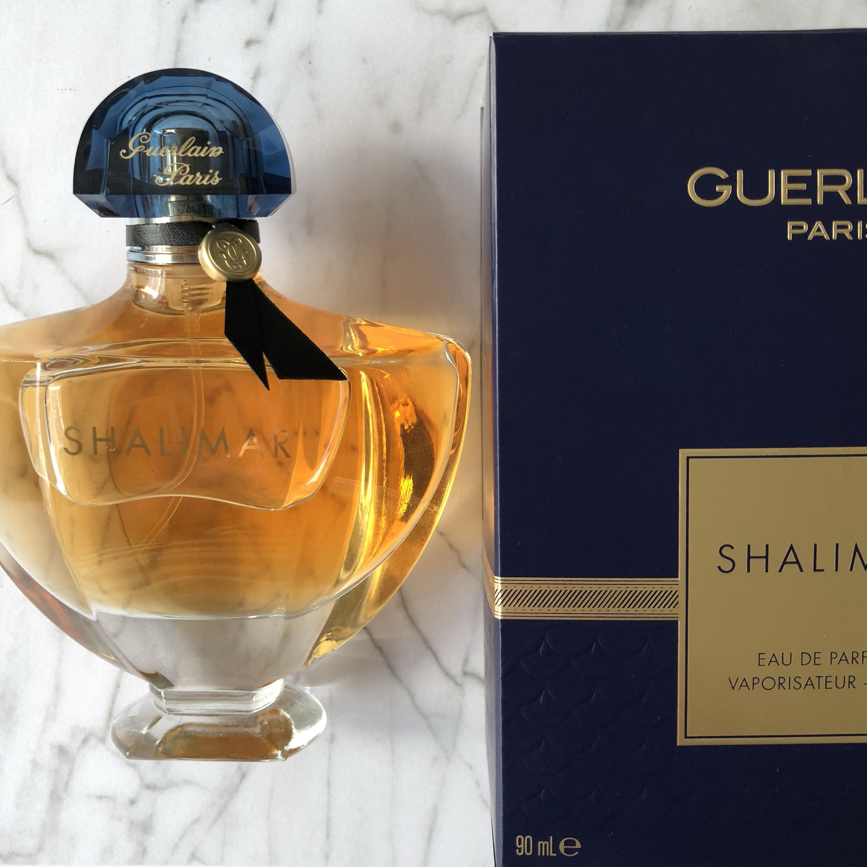 Authentic Guerlain Shalimar Perfume