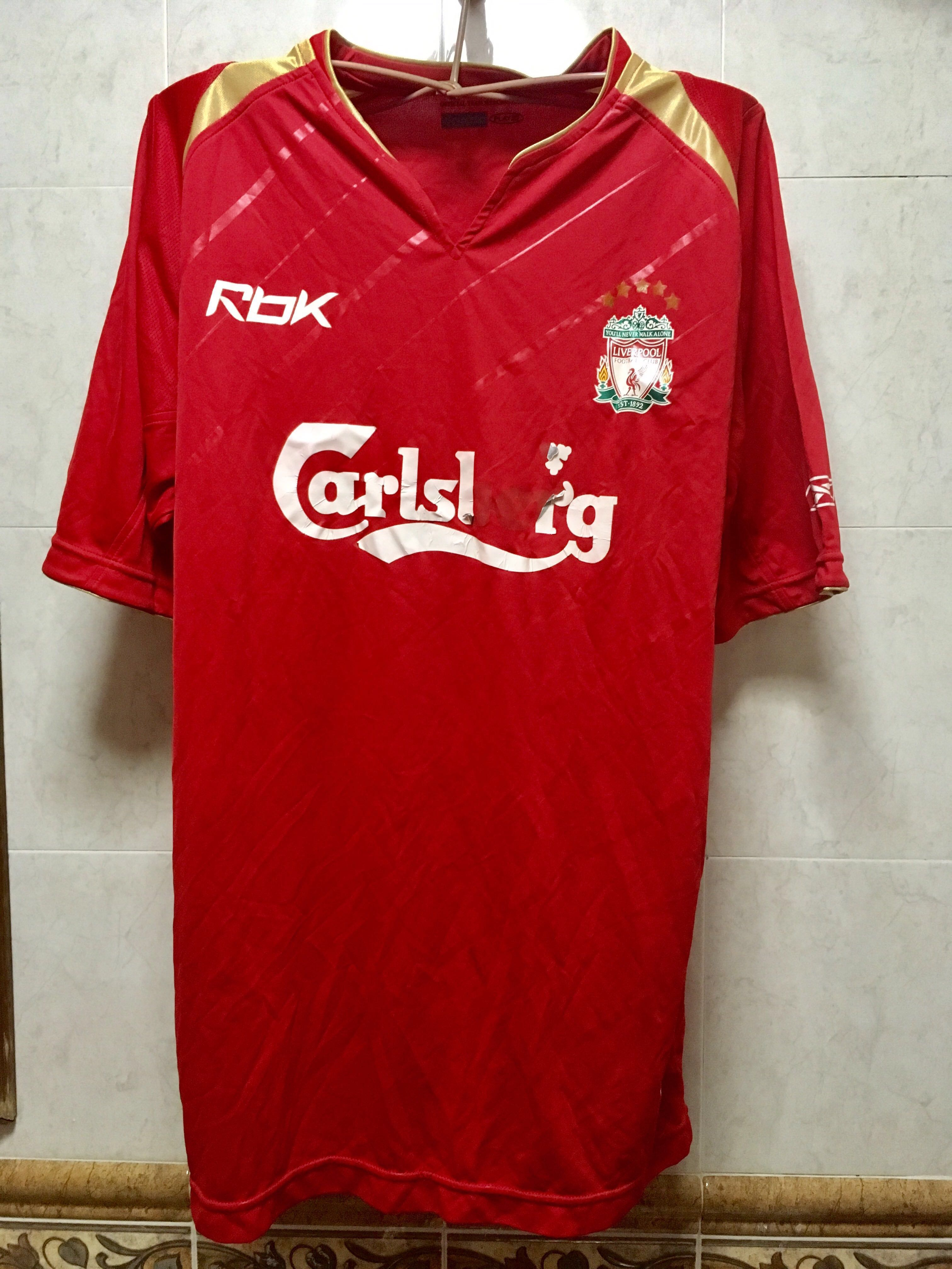 480193a4b25 Authentic Liverpool FC jersey UK US M size