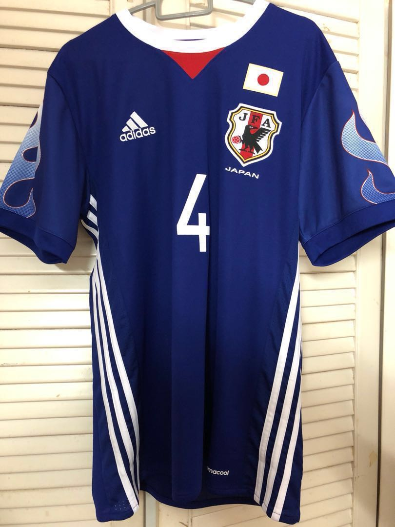 new arrival 61aa5 89ea7 Authentic new Japan soccer jersey, Sports, Sports Apparel on ...