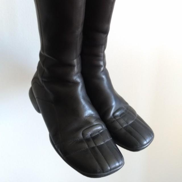 Authentic Prada mid-calf boots