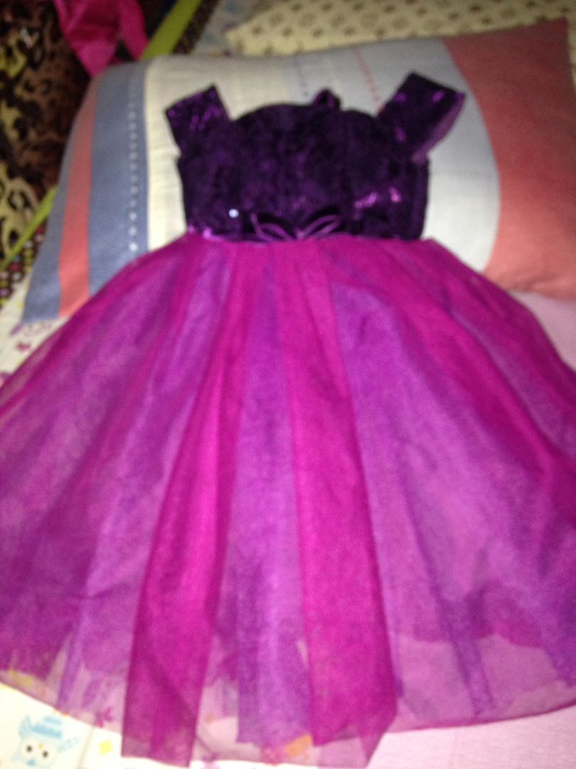 Baby Violet Gown