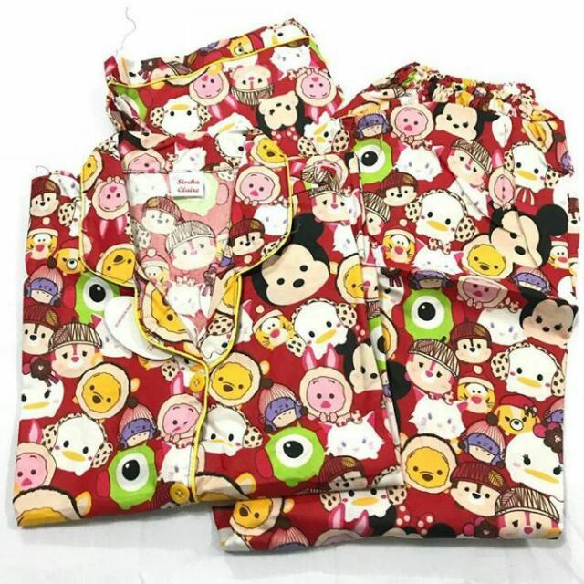Baju Tidur Tsum Tsum