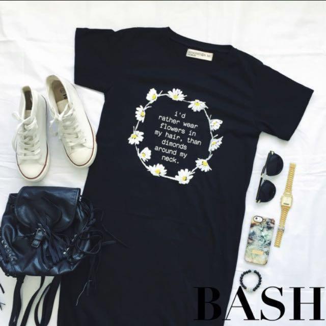 Bash Daisy Quote Shift Dress