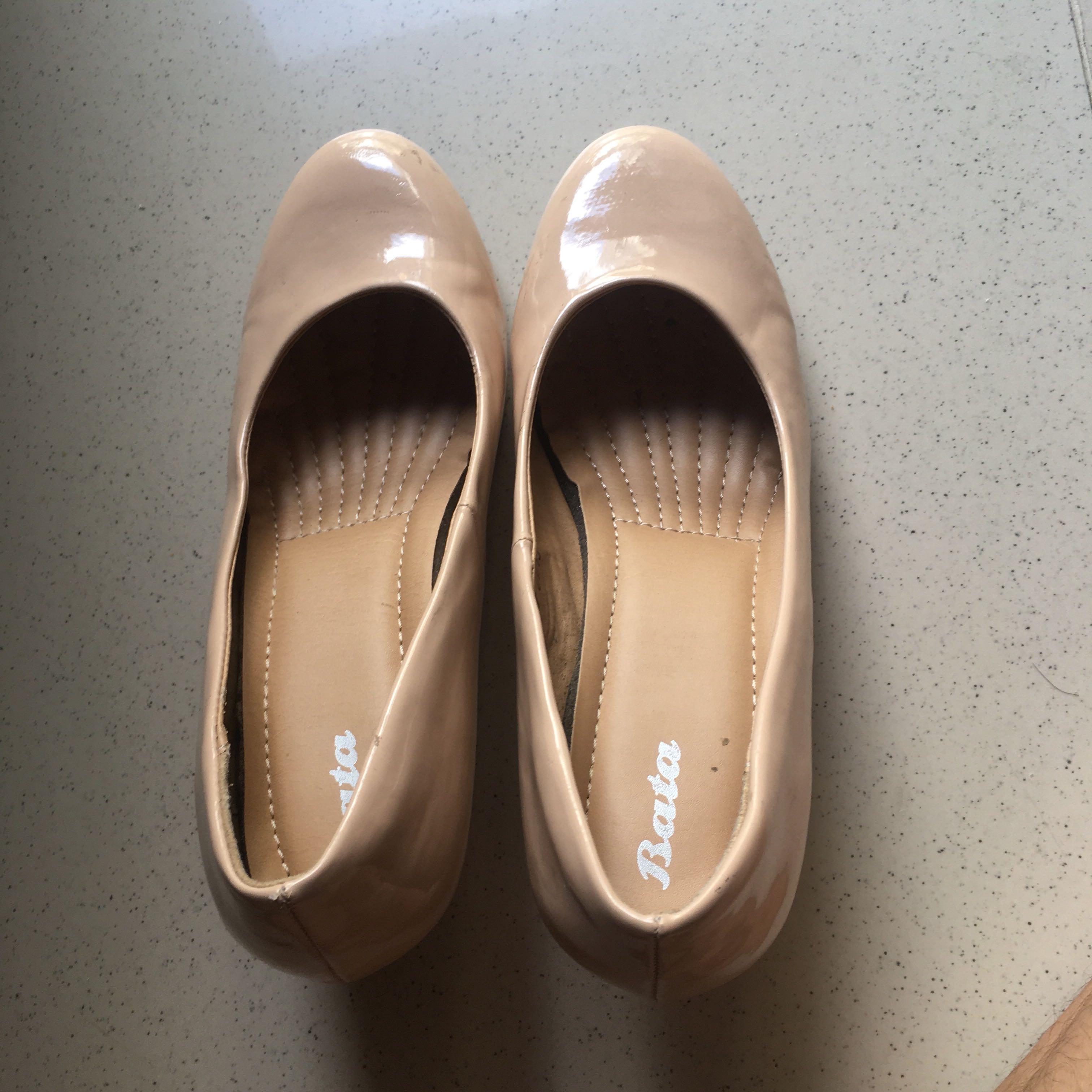 Bata nude heels