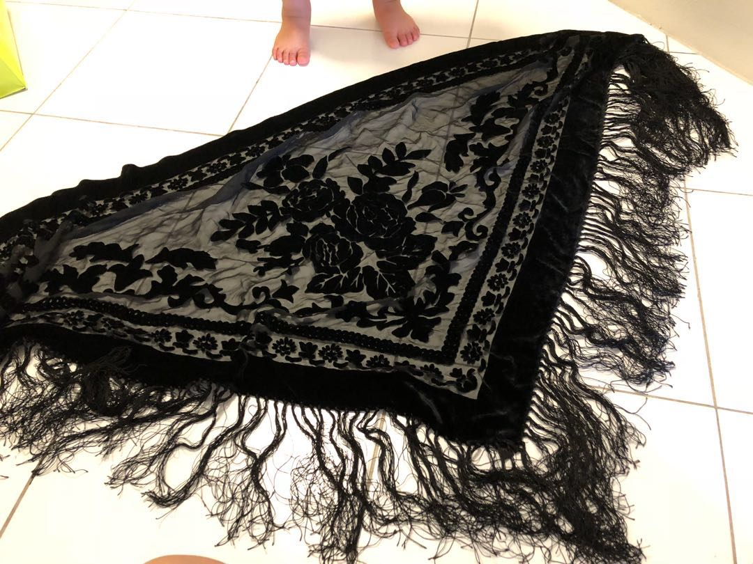 Beautiful silk shawl