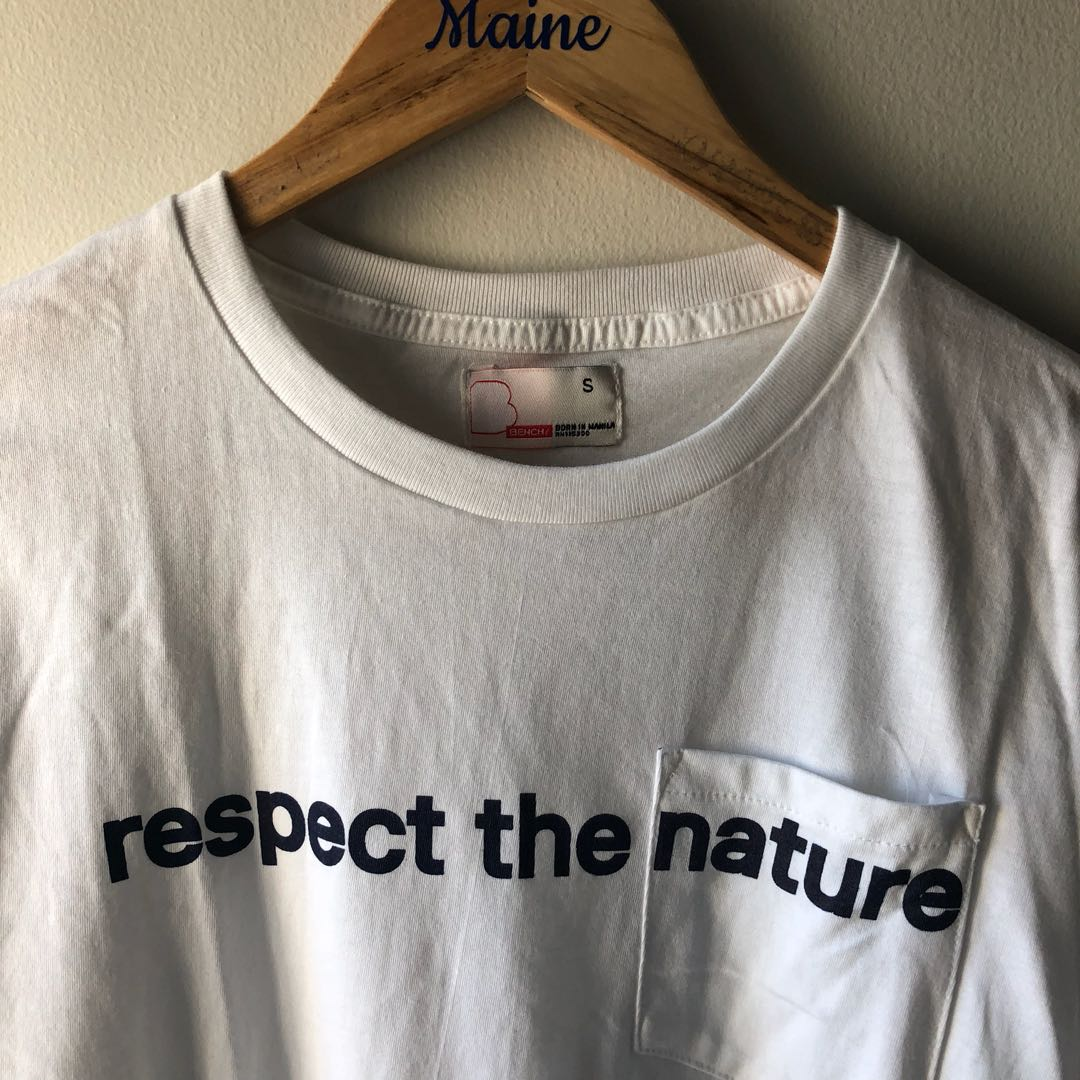 Bench Tshirt — Respect The Nature