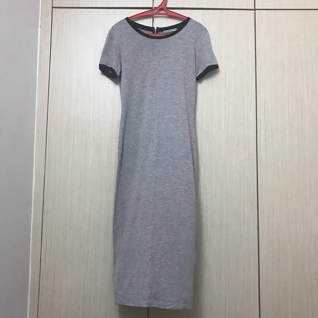 Bershka maxi dress