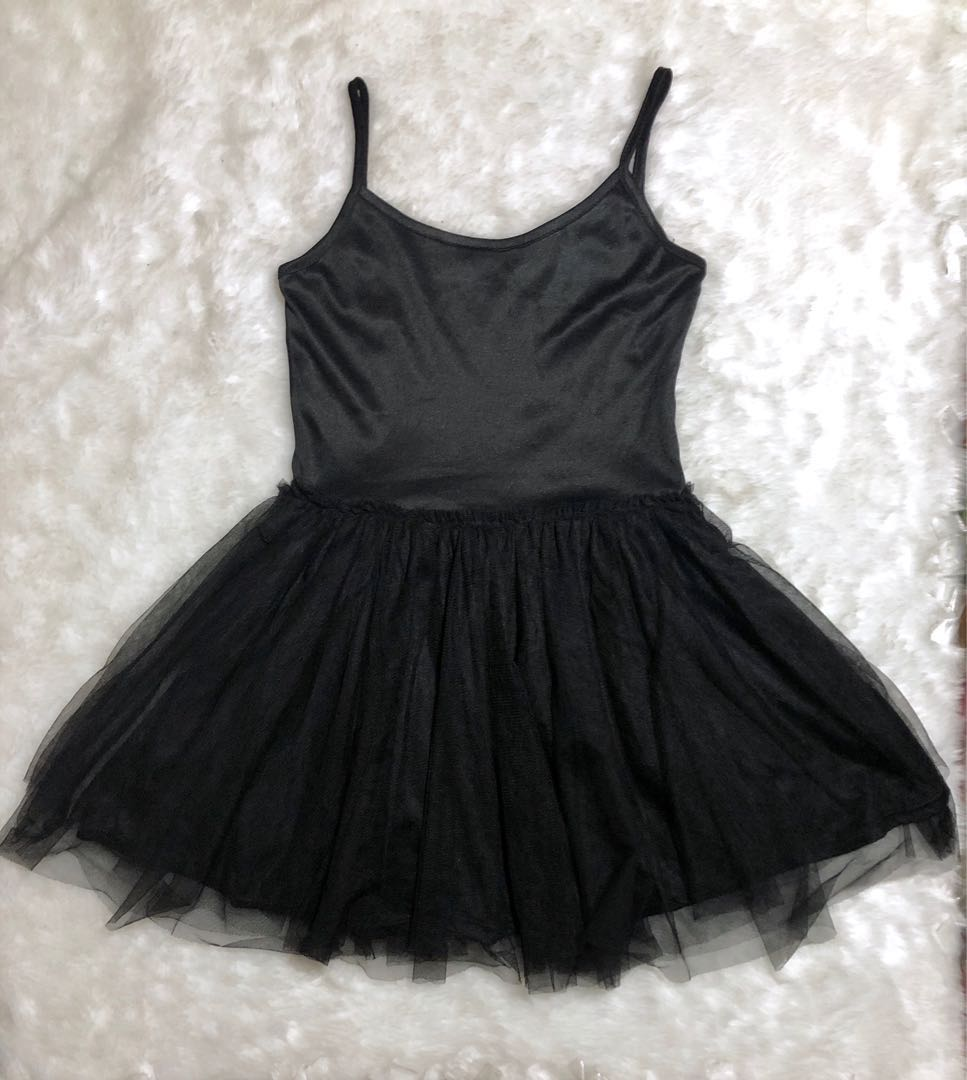 Black Tulle dress for women