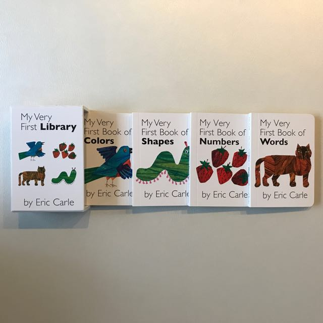 "BN Eric Carle ""My Very First Library"", Books & Stationery ..."