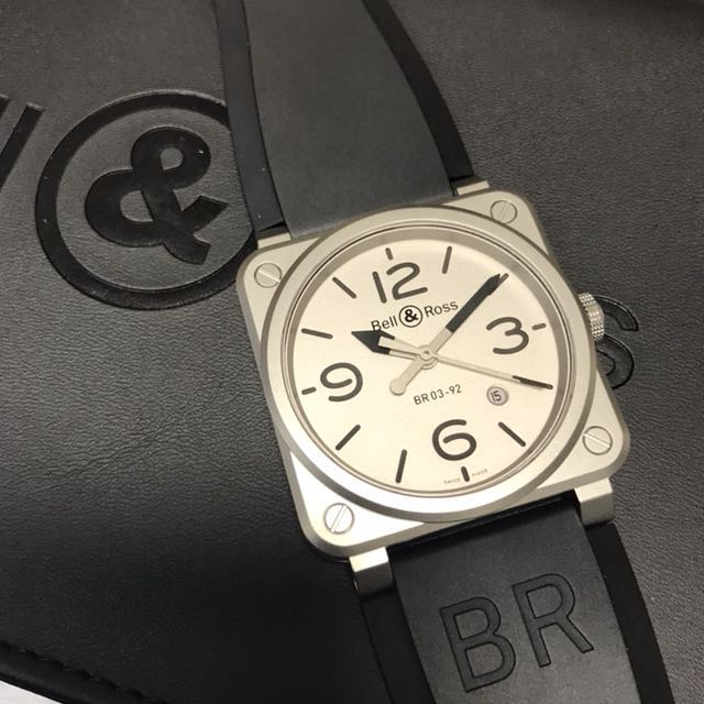 c075b6067 BNIB Bell and Ross BR03-92 Horoblack Limited Edition 999 Pieces 42mm BR0392  FREE DELIVERY, Men's Fashion, Watches on Carousell