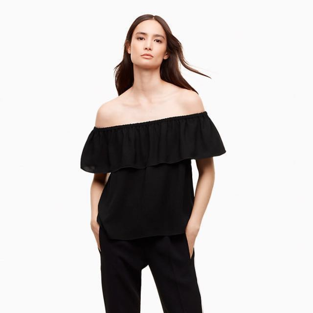 BNWT Wilfred black off the shoulder blouse