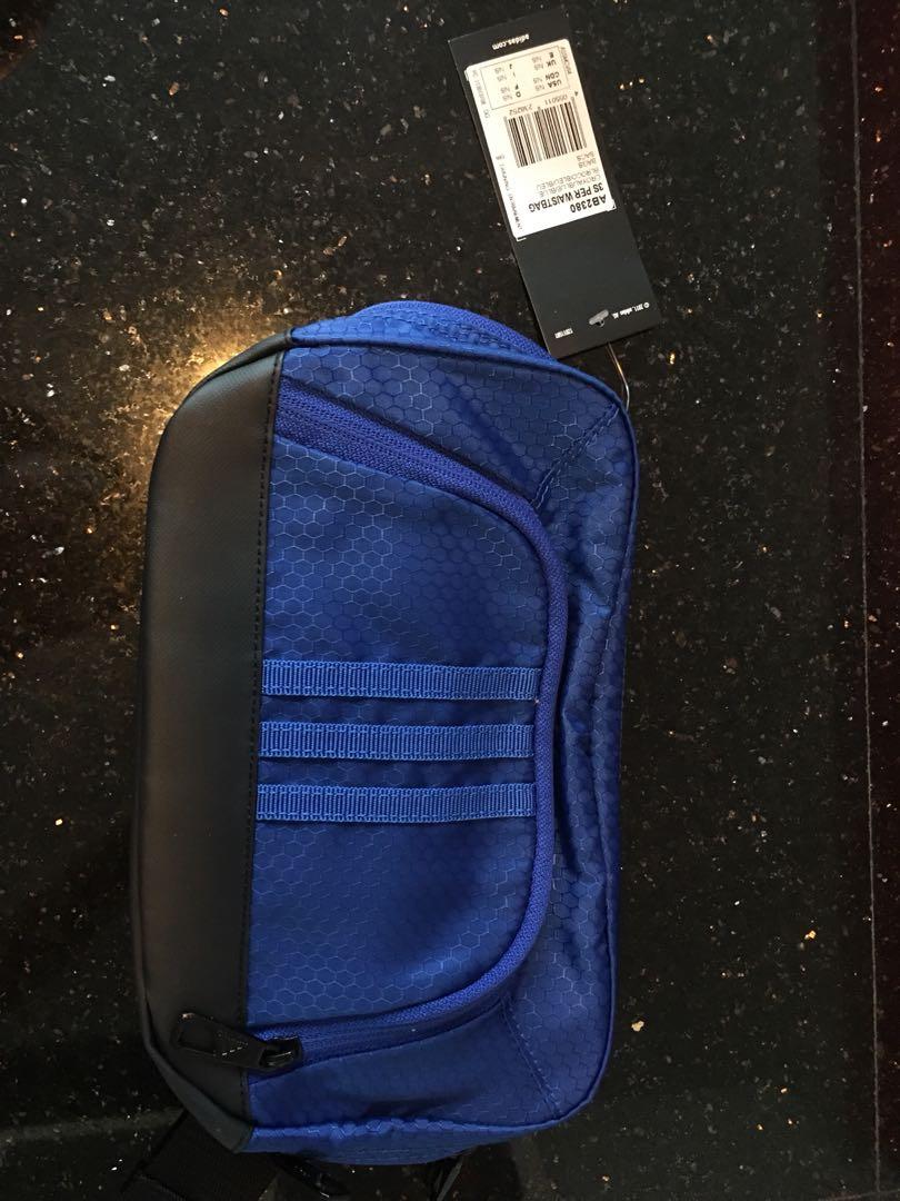 ef252ae0a0 Brand new Adidas blue waist bag