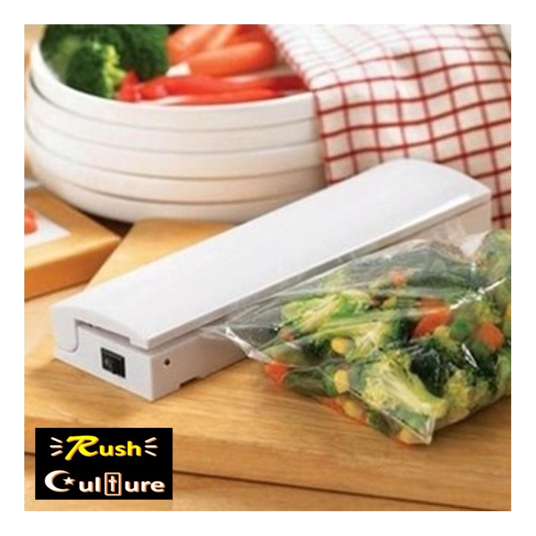 Home Portable Seal Vacuum Food Bag Sealer Packaging Machine Kitchen Tools
