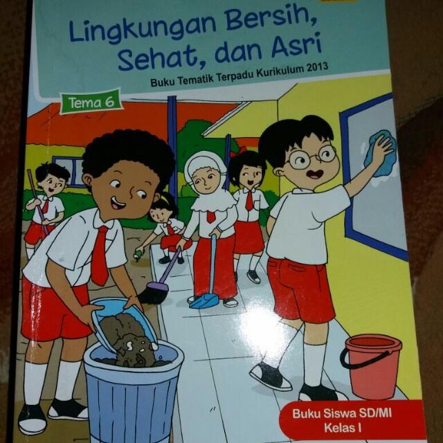 Buku Edisi Lingkungan Bersih Dan Asri Books Stationery Books On Carousell