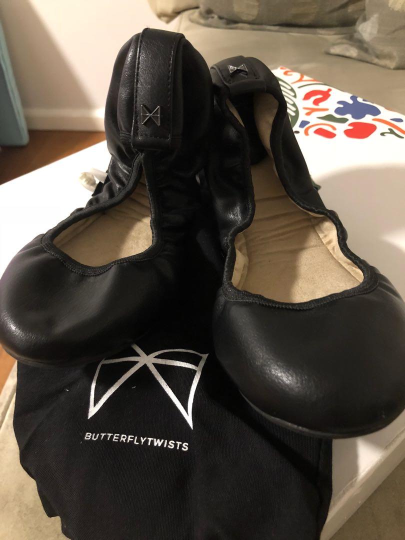Butterfly Twist Ballerina shoes