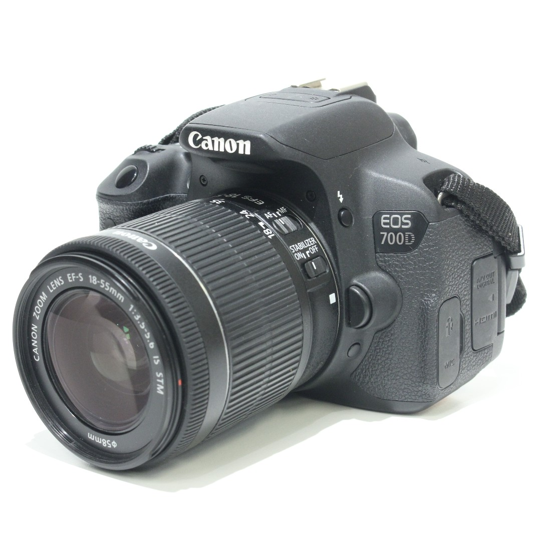 Canon EOS 700D Kit 18-55mm STM Lens (SC 3K)